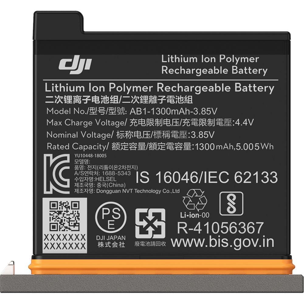 DJI-Osmo-Action-Acumulator-LiPo-1300-mAh