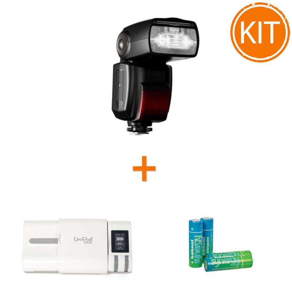Kit-Hahnel-MODUS-600RT-Wireless-pentru-Canon---Incarcator-Unipal-Plus---4-acumulatori