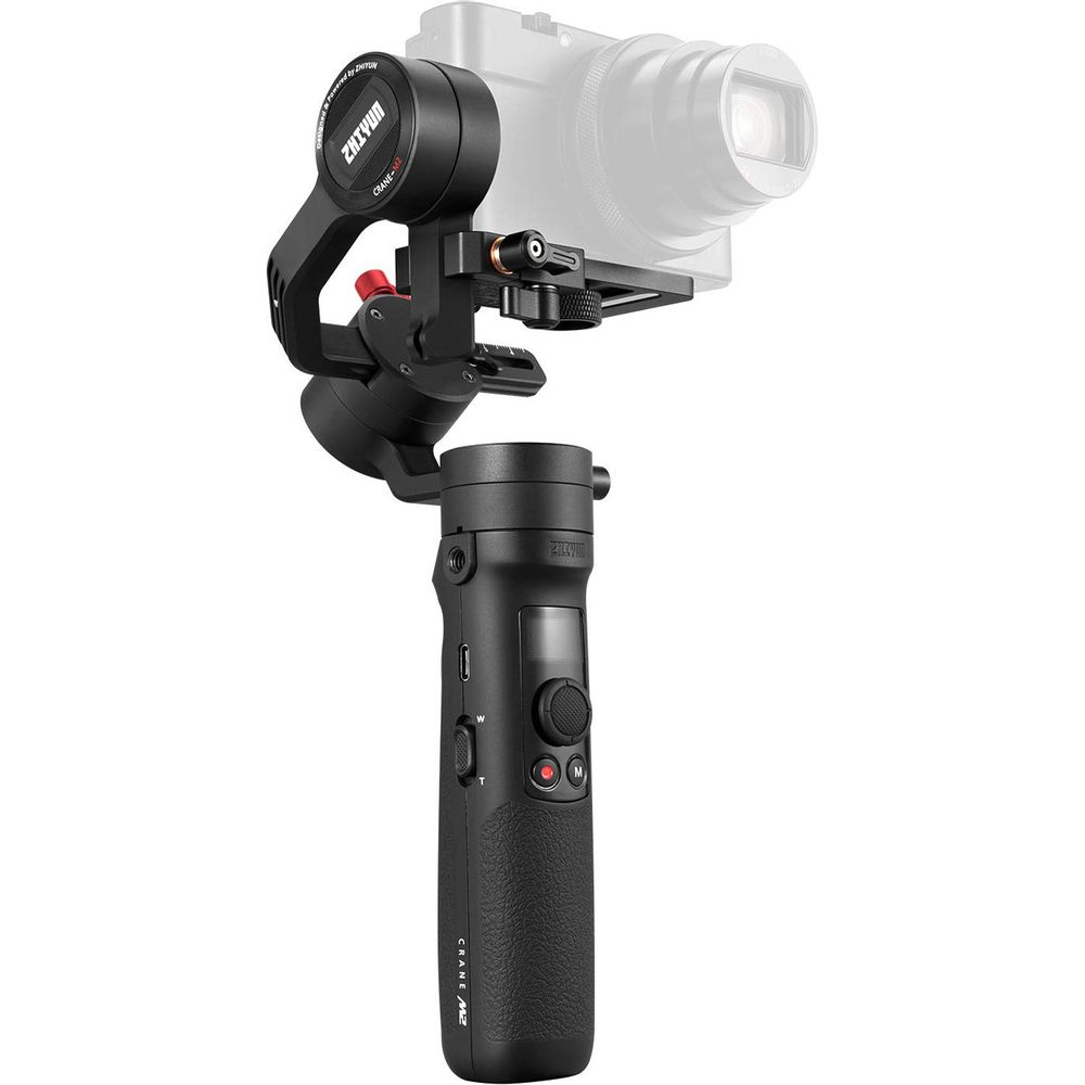 Zhiyun-Tech-Crane-M2-Stabilizator-cu-Gimbal-pe-3-Axe-pentru-SmartphoneCamere-de-ActiuneMirrorless