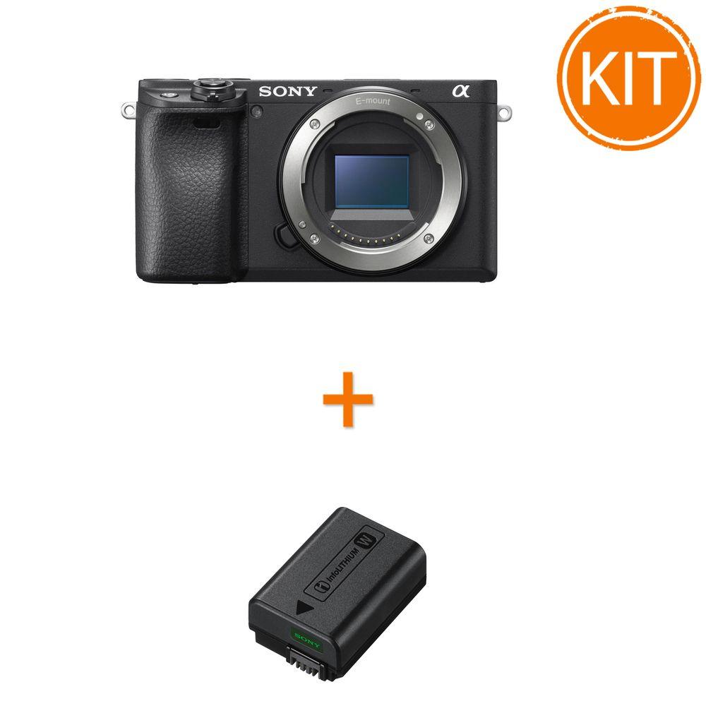 Kit-Sony-Alpha-A6400---Sony-Acumulator--NP-FW50