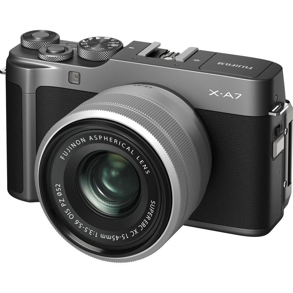 Fujifilm-X-A7-XF-15-45rmm-Dark-Silver