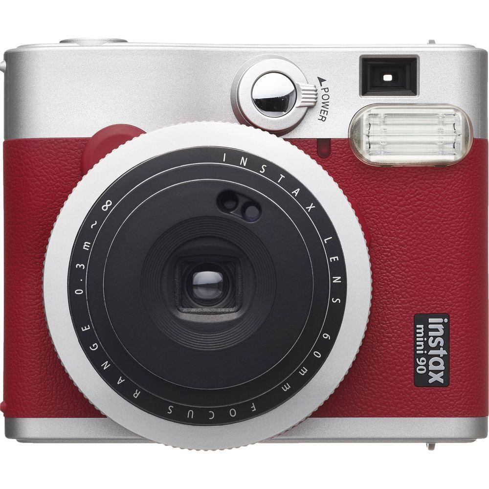 Fujifilm-Instax-Mini-90-Neo-Classic-Aparat-Foto-Instant-Rosu