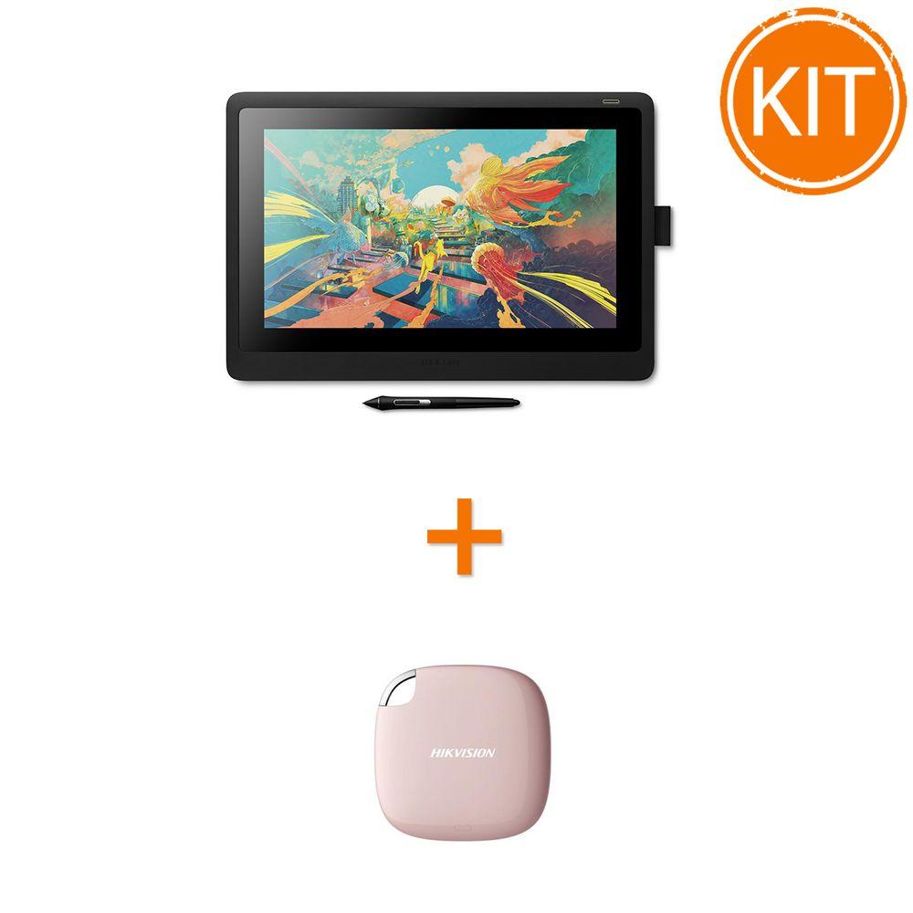 Kit-Wacom-Display-Interactiv-Cintiq-16inch---Hikvision--SSD-120GB