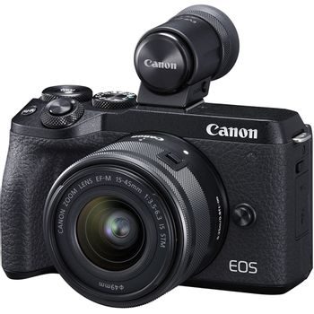 Canon-EOS-M6-MK-II-Aparat-Foto-Mirrorless-32.5MP-4K-Kit-cu-Obiectiv-EF-M-15-45mm-f-3.5-6.3-IS-si-EVF-DC2