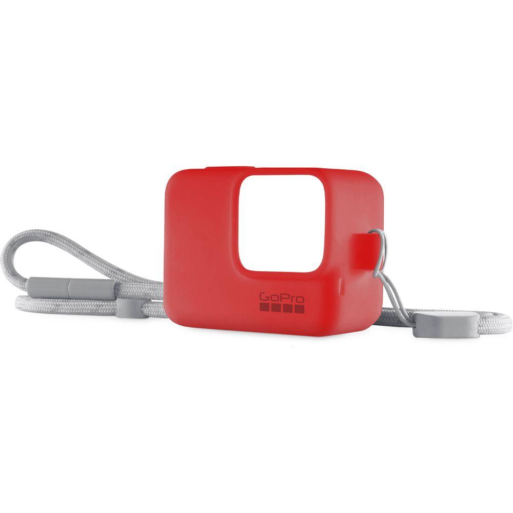 GoPro-Sleeve---Lanyard--pentru-GoPro-HERO567-Firecracker-Red