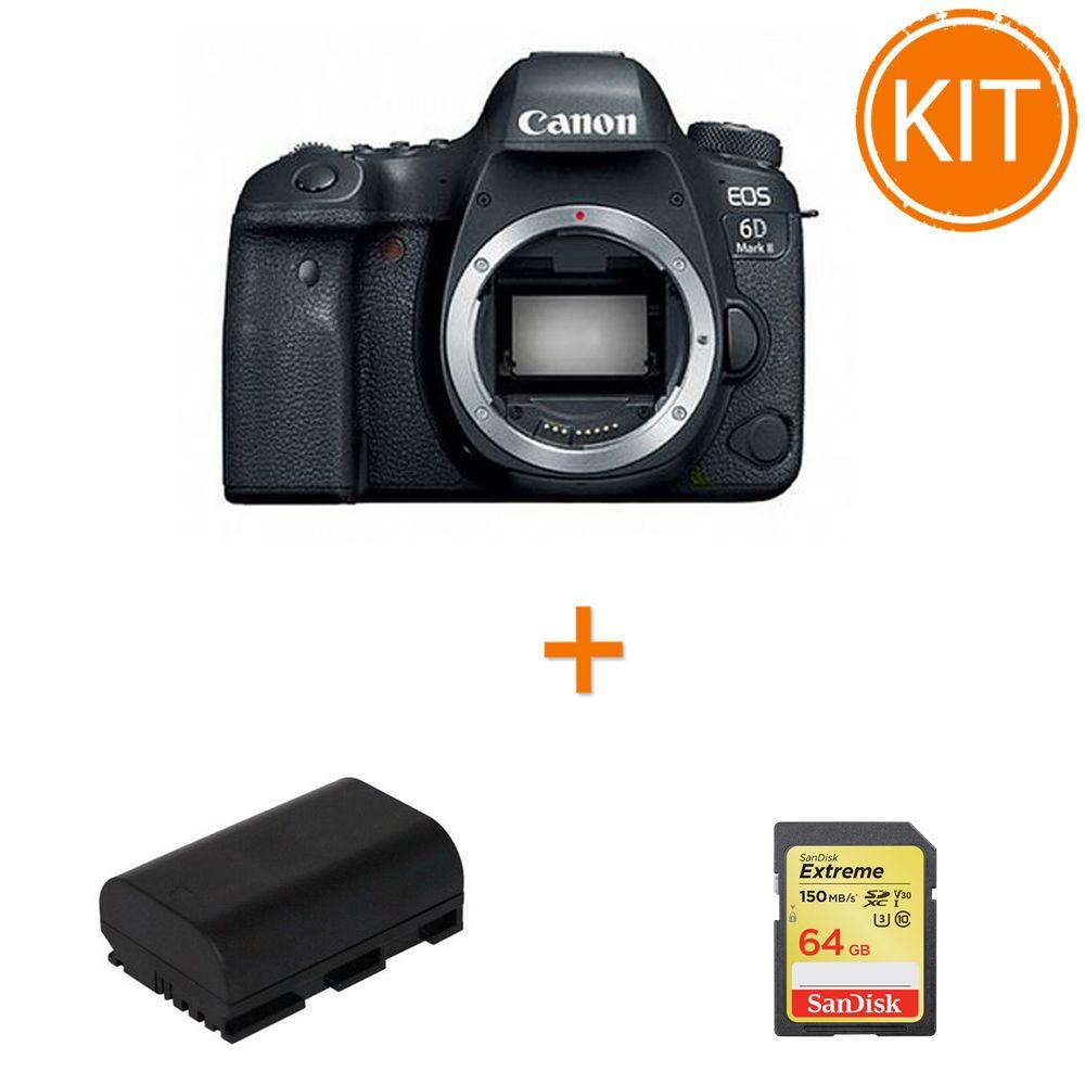 Bundle-Canon-EOS-6D-Mark-II-Body---acumulator-Power3000-PL826B