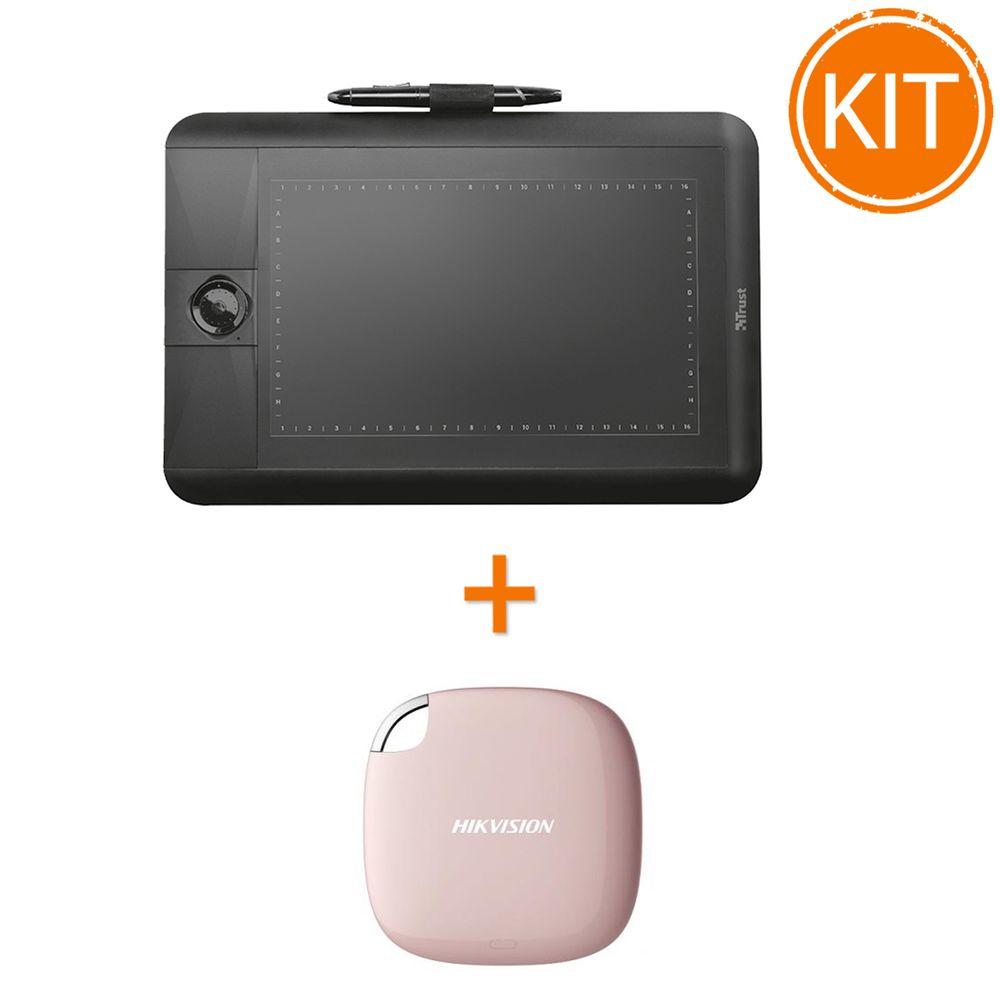 Kit-Tableta-Grafica-Trust-Panora---Hikvision-SSD-extern-120GB
