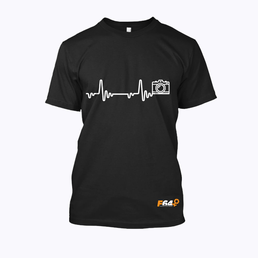 Tricou-Camera-Pulse-XS-Negru