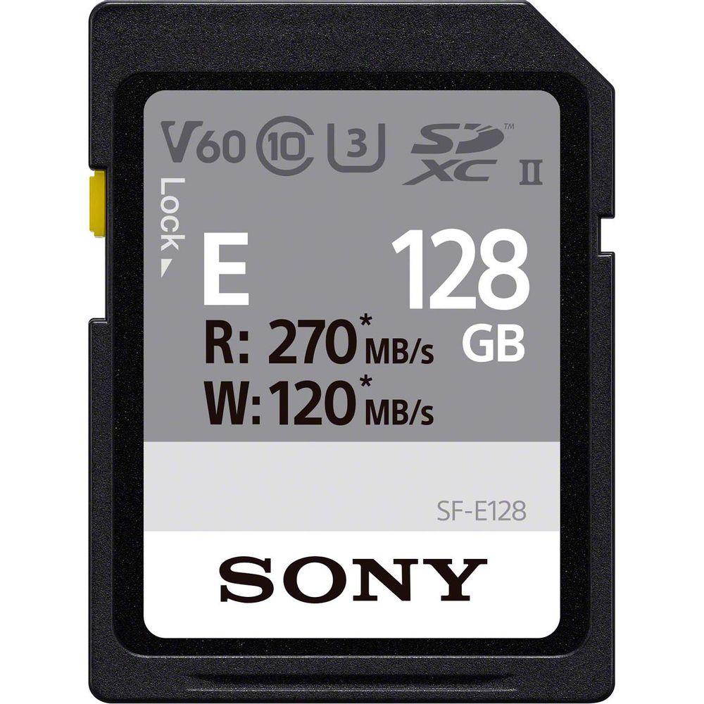 Sony-Card-Memorie-SDXC-UHS-II-Class-10-U3-V6