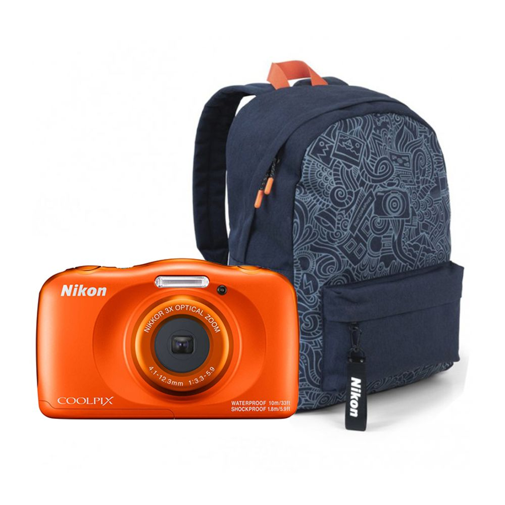 Nikon-Coolpix-W150-Aparat-Foto-Compact-Subacvatic-Orange