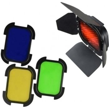 godox-kit-honeycomb-4-filtre--rosu--galben--albastru--verde--pentru-ad200-60854-820
