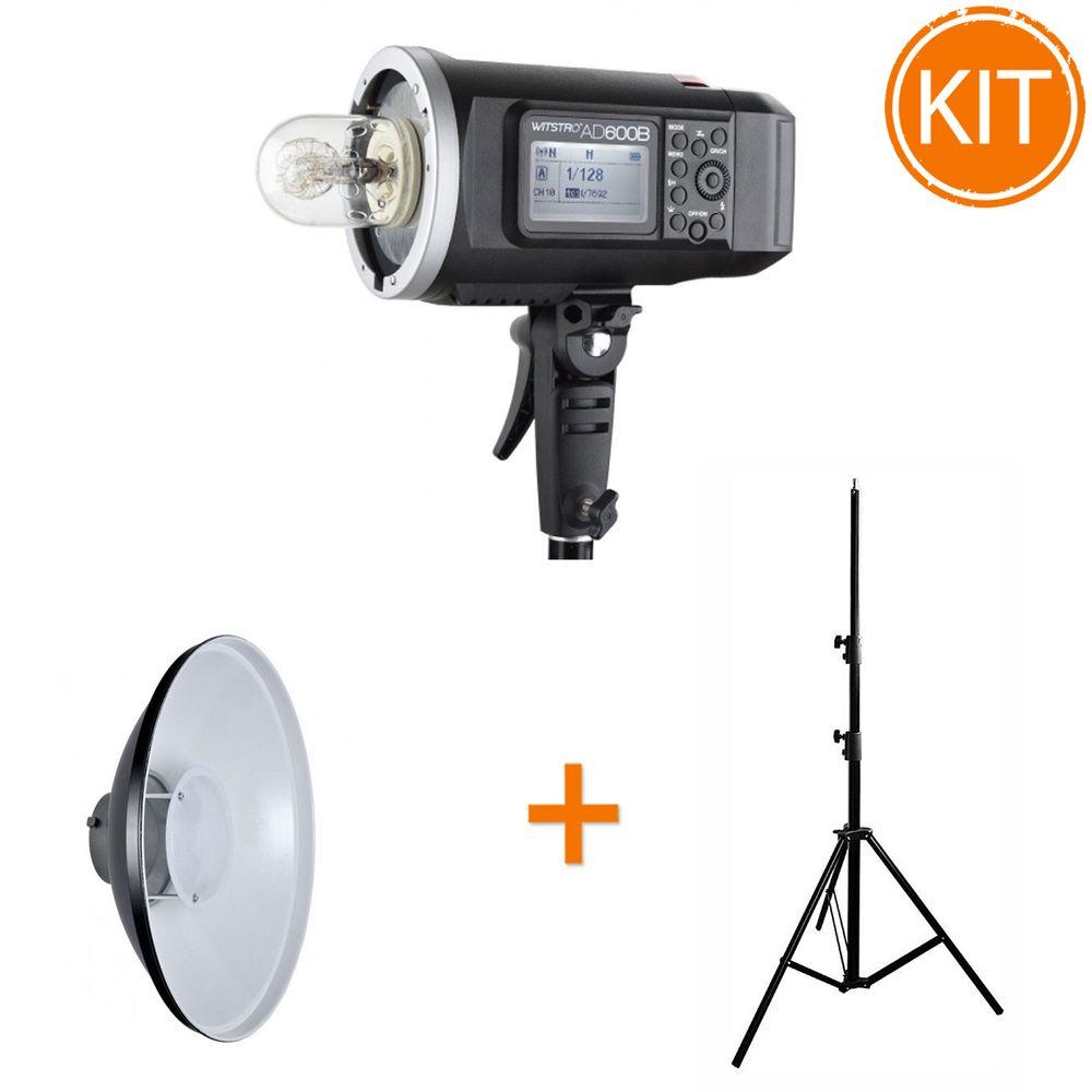 Kit-Godox-AD600-Blit-600Ws-TTL---Beauty-dish-alb-55cm---Stativ-2