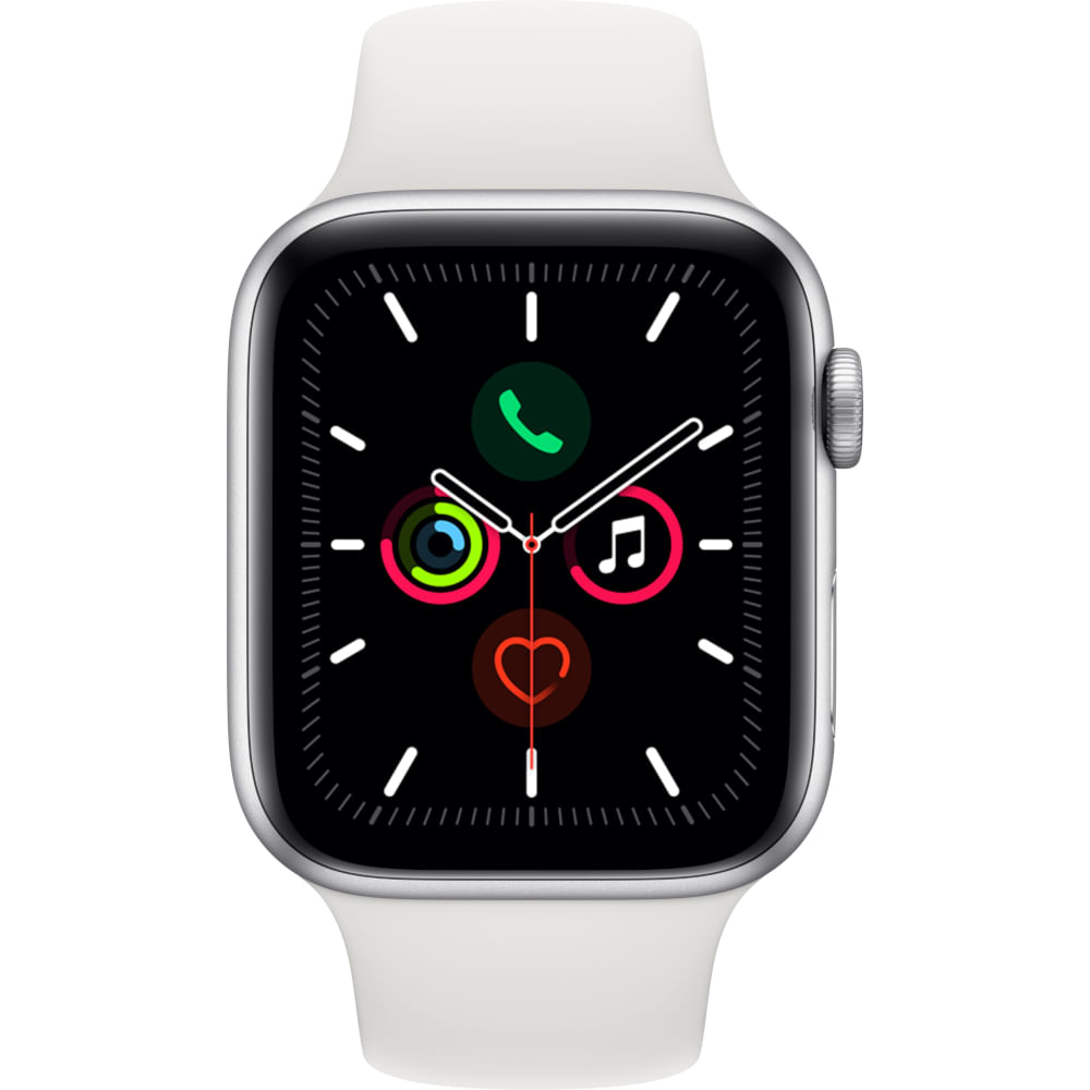 Apple-Watch-Series-5-GPS-44mm-Silver-Aluminium-Case-with-White-Sport-Band---SM---ML--2-