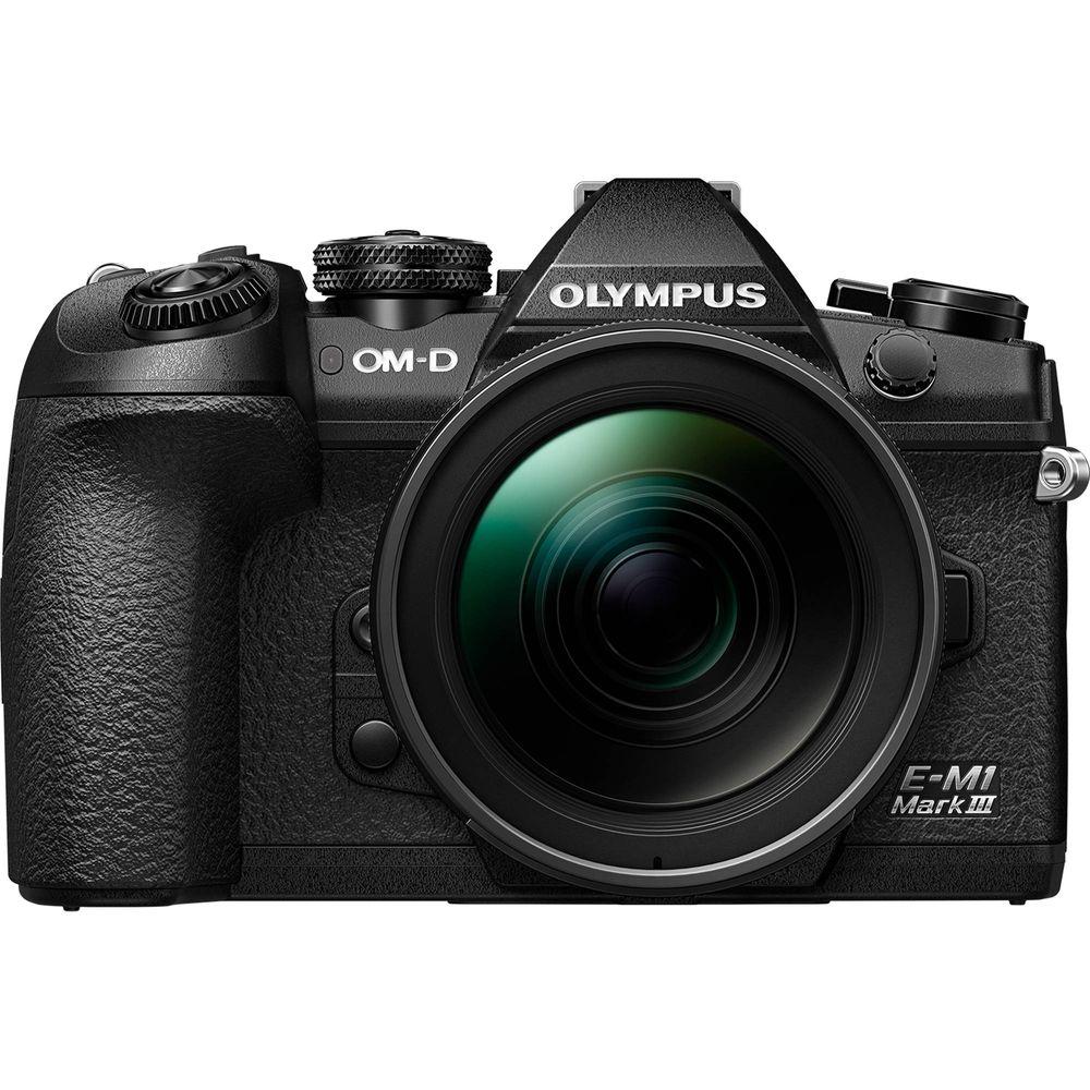 Olympus-OM-D-E-M1-Mark-III-Aparat-Foto-Mirrorless-MFT-20.4MP-Kit-cu-Obiectiv-12-40mm