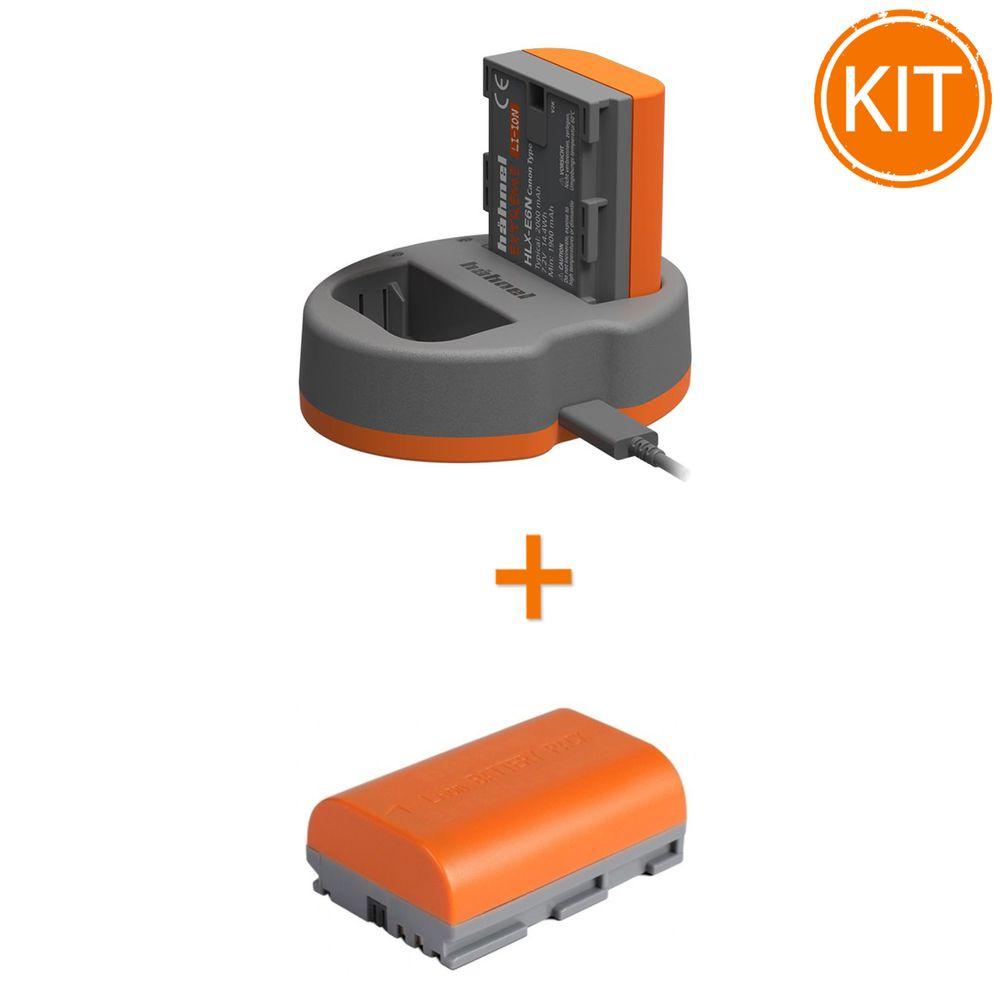 Kit-Hahnel-Extreme-Power-cu-acumulator-HLX-E6N---HLX-E6N-Acumulator-pentru-Canon