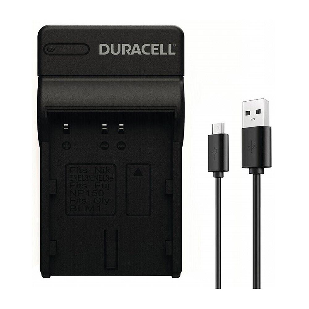 duracell-battery-charger-drnel3-en-el3-en-el3a-usb-cable