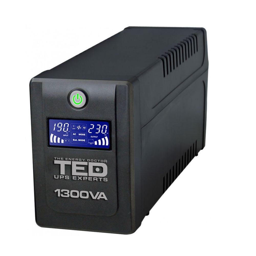 TED-UPS-Expert-1300VA---750W-Line-Interactive-cu-Stabilizator-4-Iesiri-Schuko-si-Display-LCD-