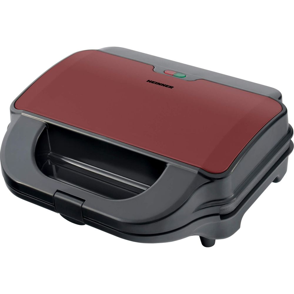 Heinner-SM-2H900BKS-Sandwich-Maker-900W-Rosu-Negru