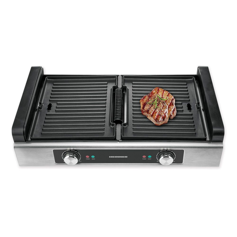 Heinner-HSEG-1800SS-Grill-Electric-1800W-Functie-Filtrare-Fum