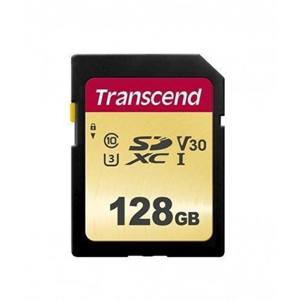 Transcend-SDC500S-Card-de-Memorie-SDXC-128GB-CL10-UHS-I-U3-95MBS