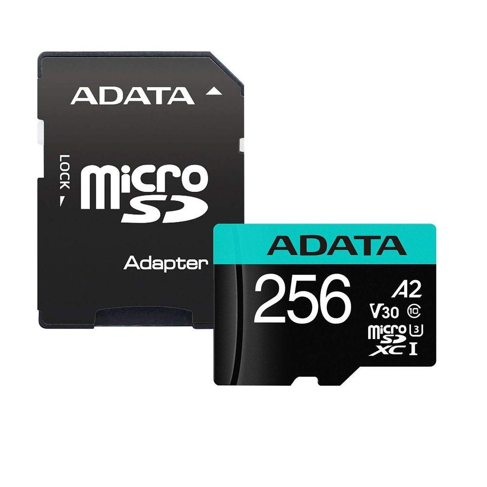 ADATA-Premier-Pro-Card-de-Memorie-MicroSDXC-256GB-10080-MBs---Adaptor-SD