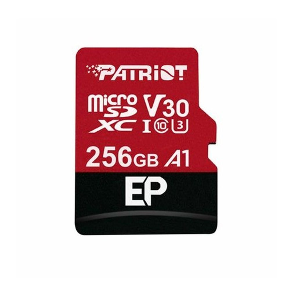 Patriot-EP-A1-Series-Card-de-Memorie-MicroSDXC-256GB-100MBs-V30-Clasa-10-UHS-I-U3