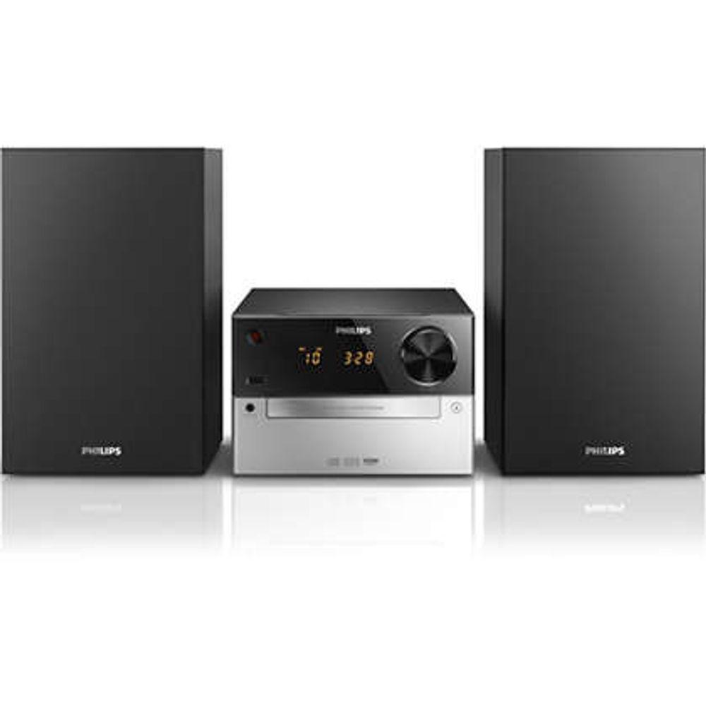 Philips-Microsistem-audio-MCM2300-12-negru-argintiu
