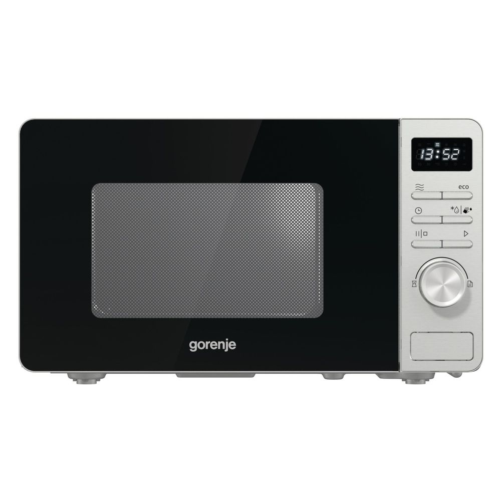 Gorenje-Cuptor-cu-Microunde-20-litri-800W-Control-Digital-Display-LCD-Silver