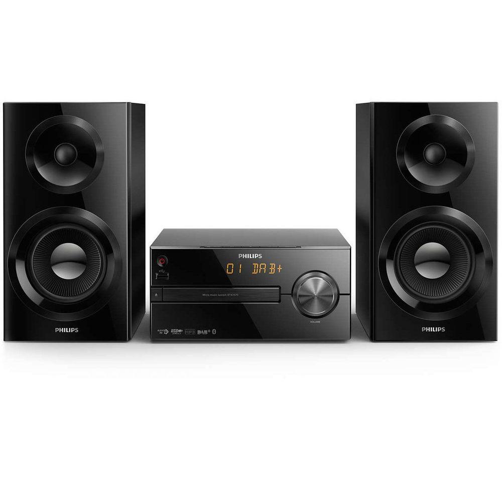 Philips-BTB2570-12-Sistem-Audio-70W-CD-MP3-USB-FM-DAB--AUX-Bluetooth-Negru