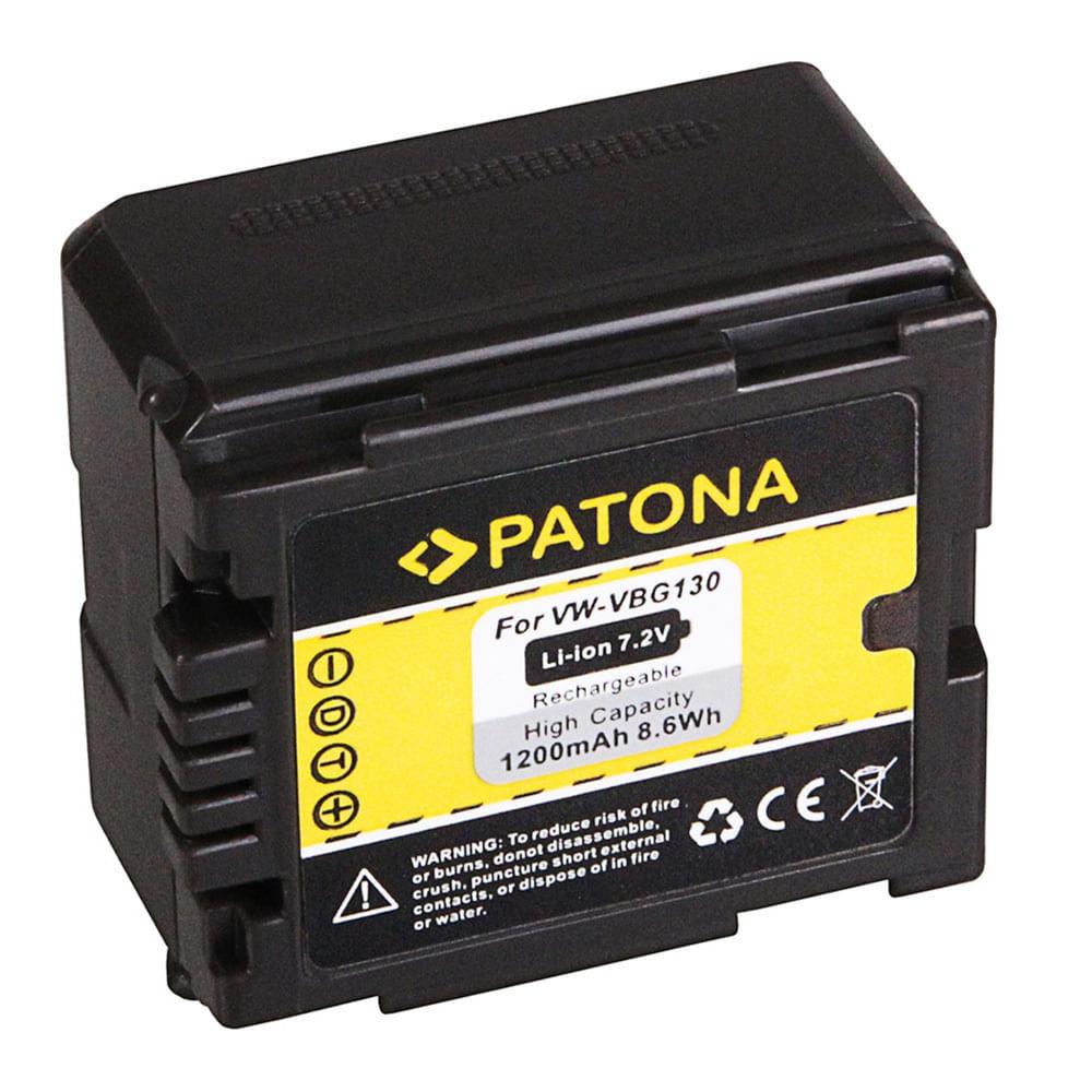 Patona-Acumulator-Replace-Li-Ion-pentru-Panasonic-VW-VBG130-1200mAh-7.2V