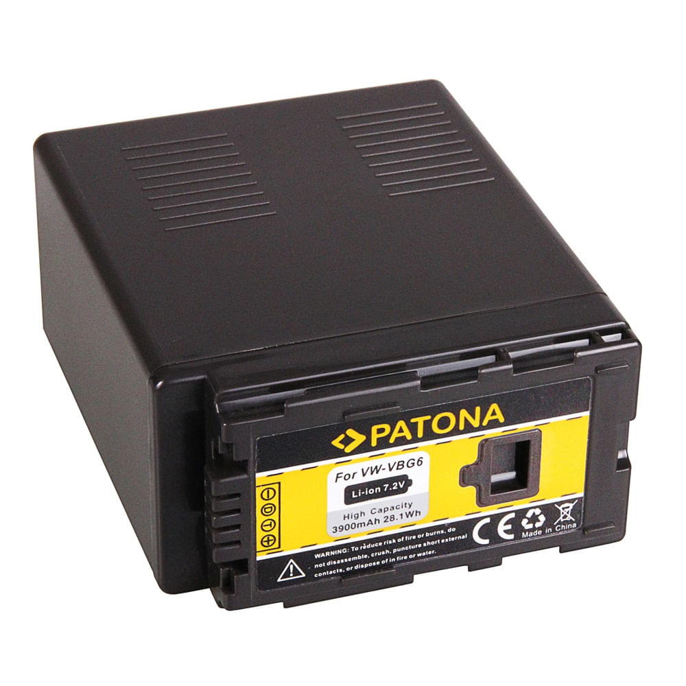 Patona-Acumulator-Replace-Li-Ion-pentru-Panasonic-VW-VBG6-3900mAh-7.2V