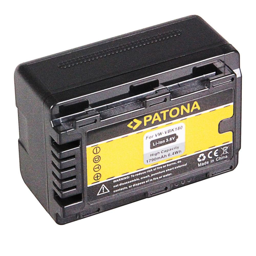 Patona-Acumulator-Replace-Li-Ion-pentru-Panasonic-VW-VBK180-1790mAh-3.6V