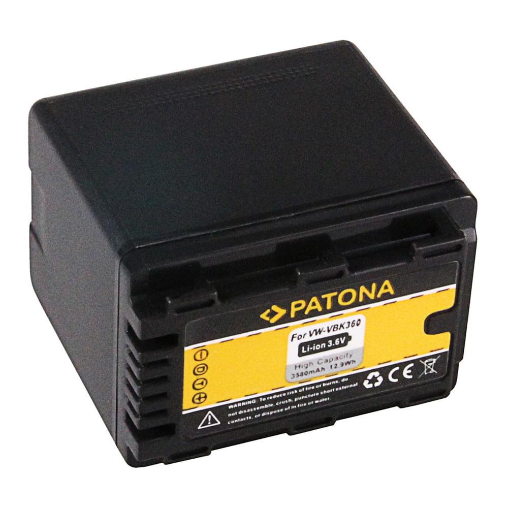 Patona-Acumulator-Replace-Li-Ion-pentru-Panasonic-VW-VBK360-3580mAh-3.6V