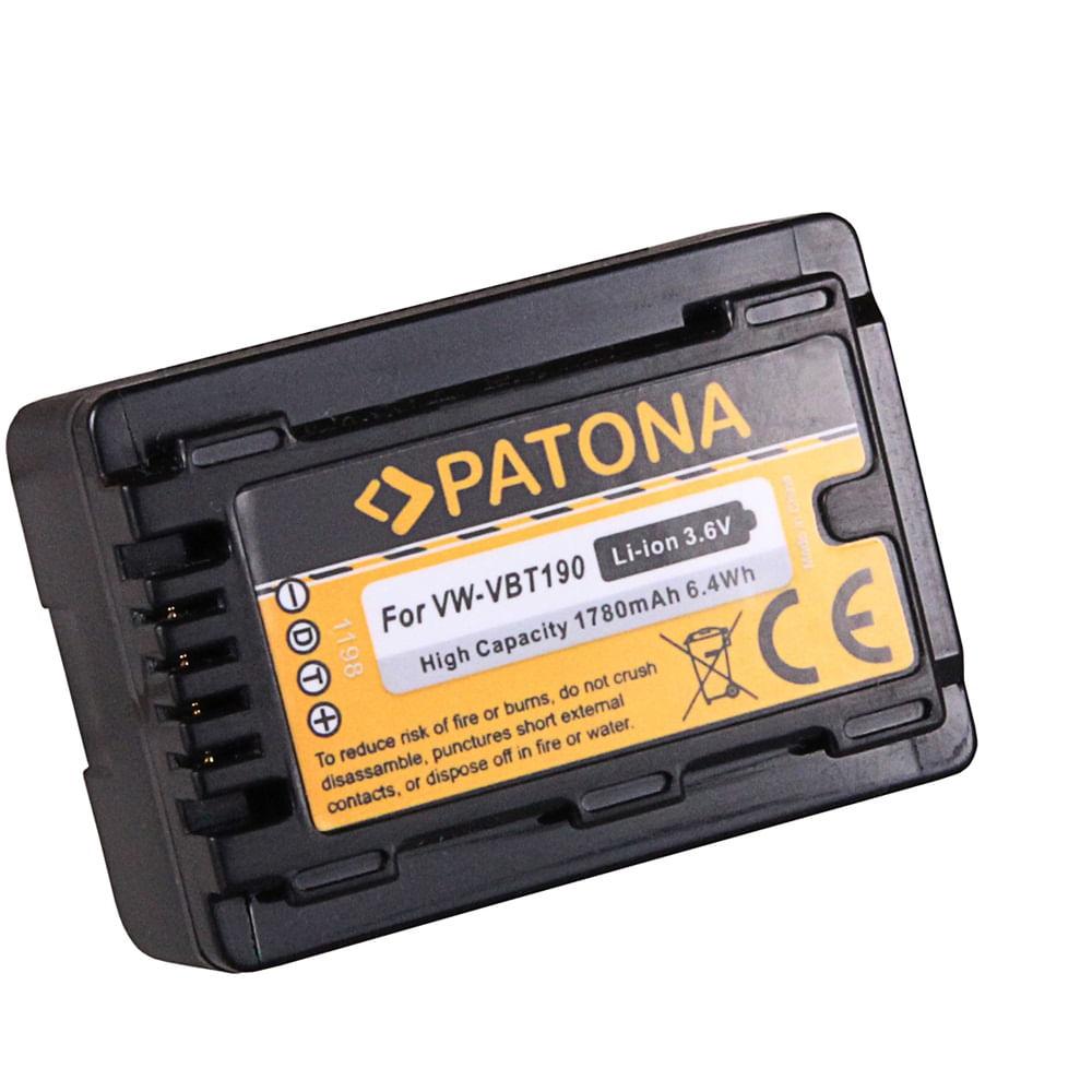 Patona-Acumulator-Replace-Li-Ion-pentru-Panasonic-VW-VBT190-1780mAh-3.6V