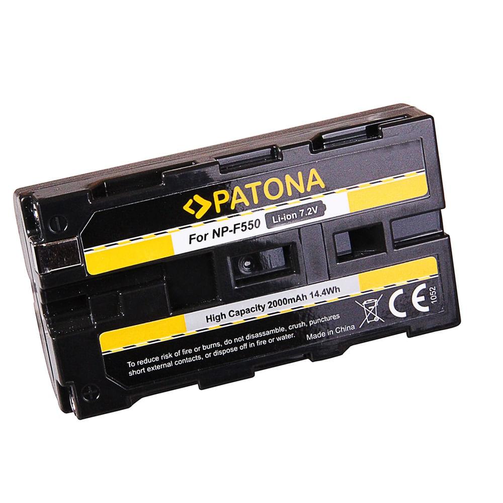 Patona-Acumulator-Replace-Li-Ion-pentru-Sony-NP-F550-2000-mAh-7.2V