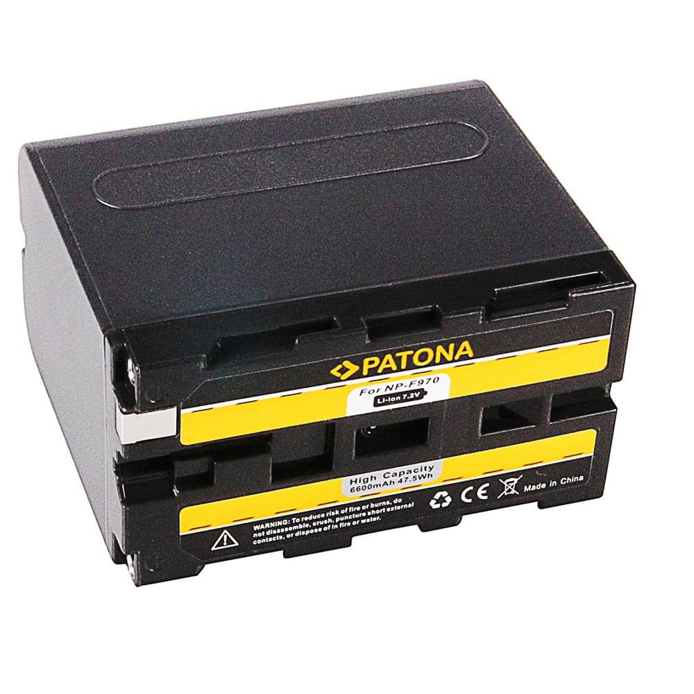 Patona-Acumulator-Replace-Li-Ion-pentru-Sony-NP-F970-6600-mAh-7.2V