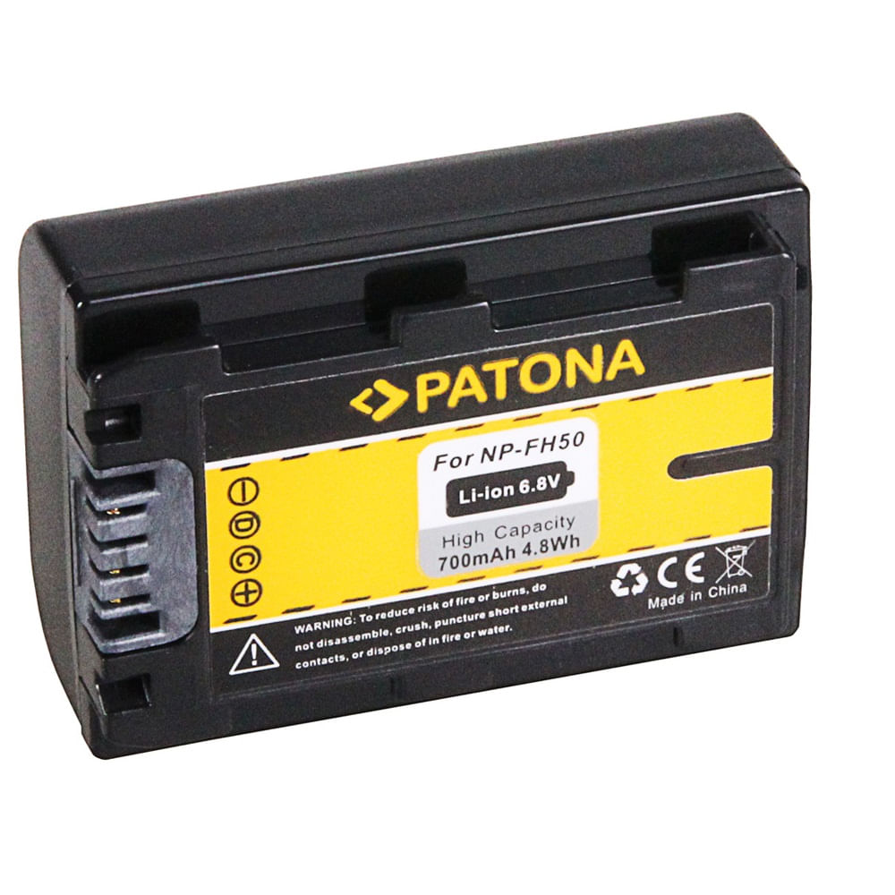 Patona-Acumulator-Replace-Li-Ion-pentru-Sony-NP-FH50-700mAh--6.8V