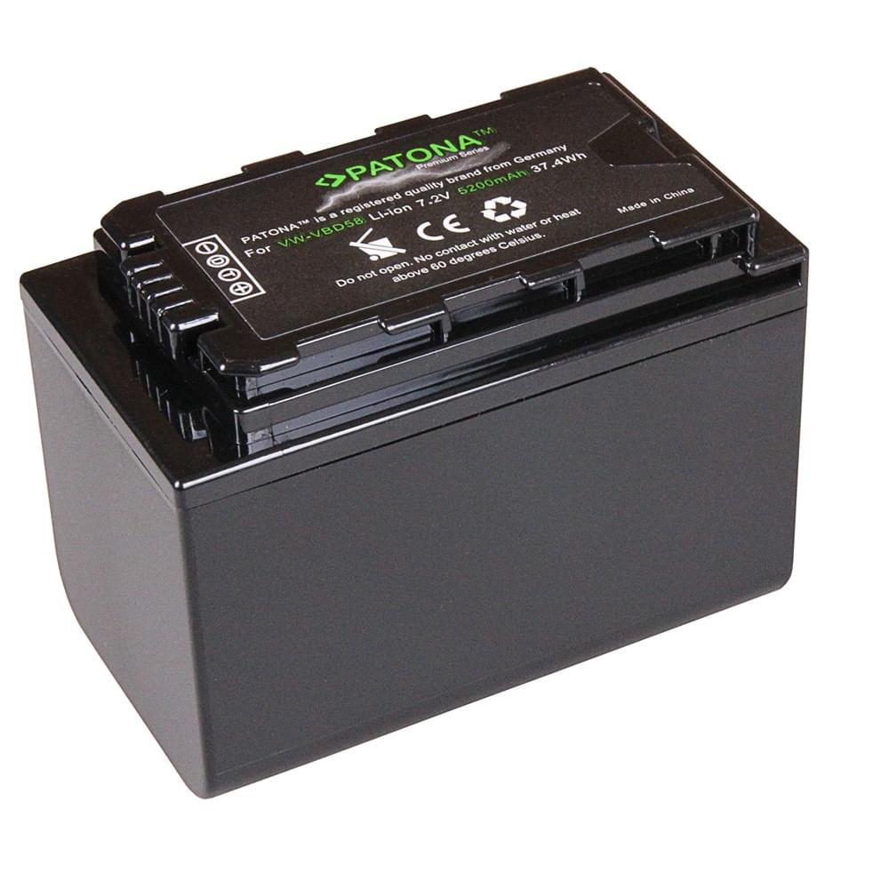 Patona-Premium-Acumulator-Replace-Li-Ion-pentru-Panasonic-VW-VBD58-5200mAh-7.2V