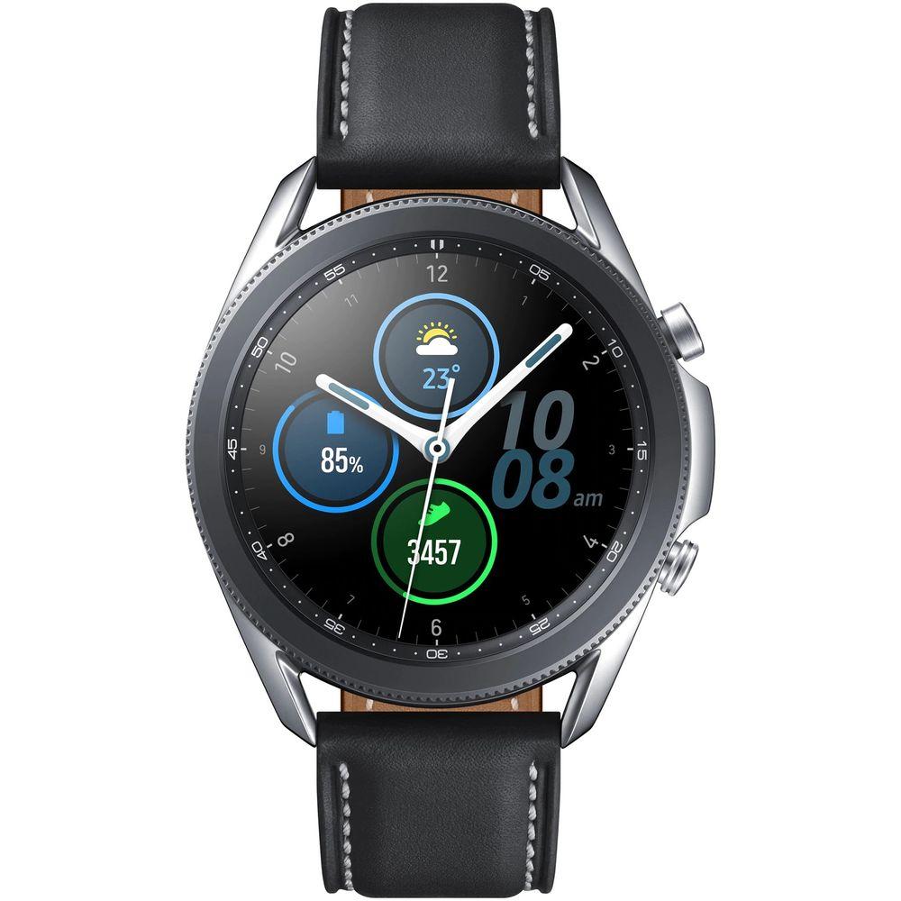Samsung-Galaxy-Watch-3-45-mm-Smartwatch-Bluetooth-Stainless-Steel-Argintiu