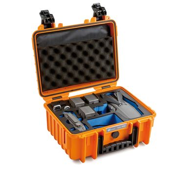 B-W-Copter-Case-3000-Geanta-Rigida-pentru-Mavic-Air-2-Orange